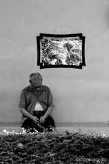 loneliness (jobarracuda) Tags: hongkong alone loneliness chinese oldman  fz50 panasoniclumixdmcfz50 jobarracuda jobar