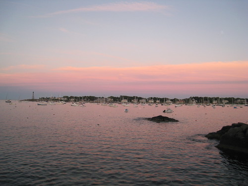 Marblehead Harbor at Sunset