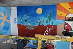 DSC_0756 (Kurt Christensen) Tags: art beach painting mural surf thrust gilgobeach gilgo