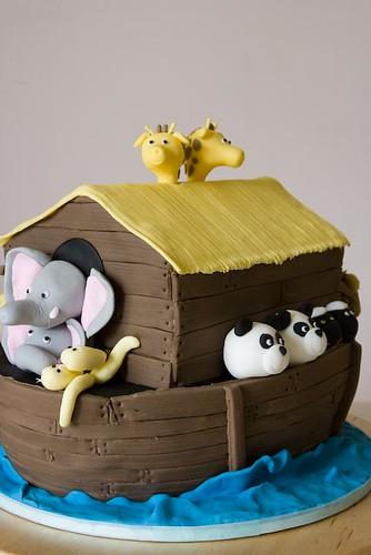 诺亚方舟蛋糕 - 碌碡画报 - 碌碡画报