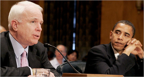 mccain and obama draw digital lines