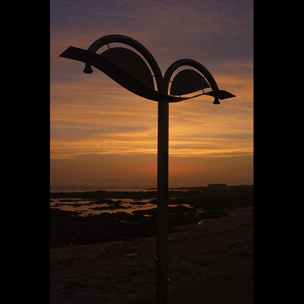 Chuveiros de Praia ao Por do Sol