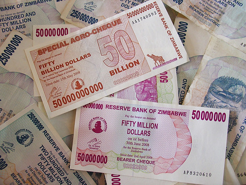 Hyperinflation in Zimbabwe by ZeroOne