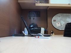 DSC09098 (Dan Not In Use) Tags: home notebook office map worldmap homeoffice