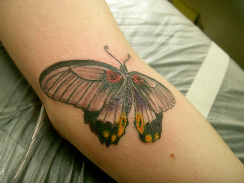 tatuagem borboleta tattoo by micaeltattoo