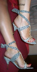 Grey leopard sandals 5 (Kwnstantina) Tags: woman sexy feet female foot high women toes highheels arch legs sandals leg arches leopard barefoot heels stiletto soles toering anklet sexylegs strappy rednails longnails heeledsandals sandaltoes redlongnails womaninstiletto