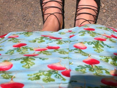 radish skirt!