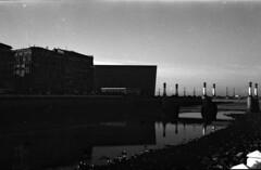 El Kursaal (***bea***) Tags: bw river pentax sansebastian euskadi donostia kursaal analogic p30