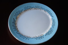 Serving plate.