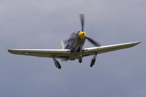 Warbird picture - Duxford Flying Legends 120708