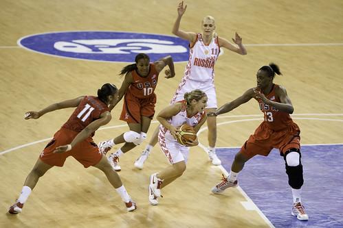 Beijing Day 6 — Basketball USA v RUS — 57