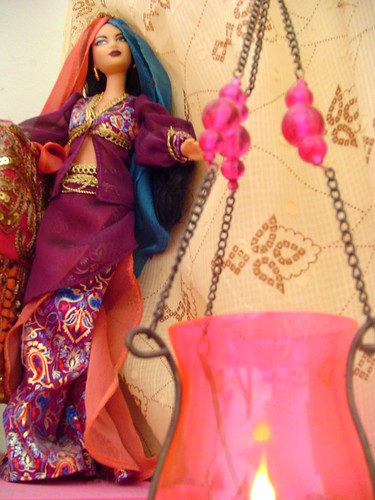 From my doll collection: Arabian Nights Barbie