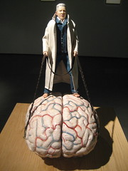 Man takes brain for walk