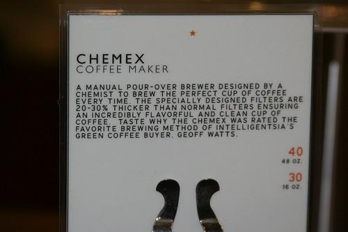 chemex verbiage