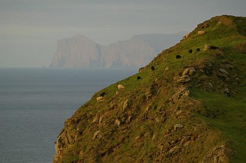 Faroe Islands - view from Mykines