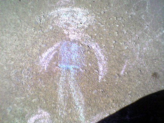 Chalk Person (Click to enlarge)