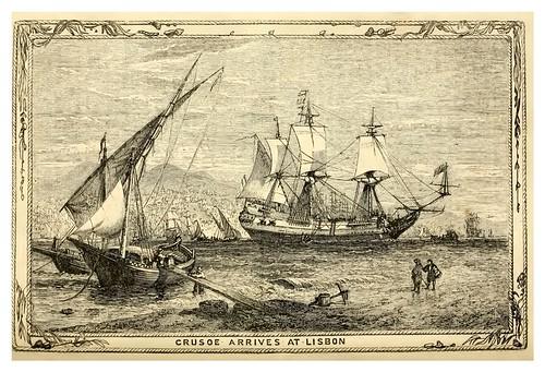20- Robinson Crusoe llega a Lisboa