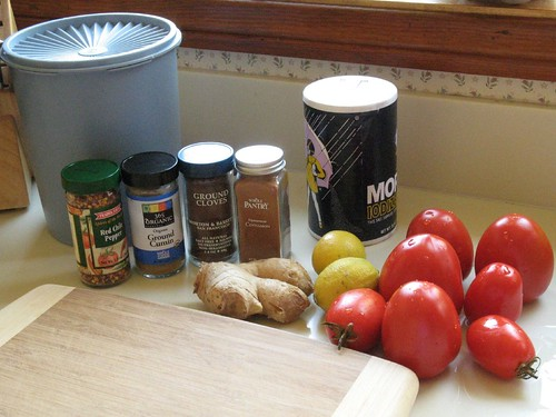 Tomato Jam Ingredients