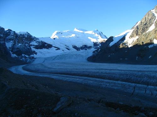 Glacier de Corbassière et Grand Combin
