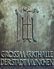 Munich Monk at Großmarkthalle (Bundscherer) Tags: münchen typography number figure type grün numeral typo ligature schrift glas zahlen typografie ziffern zahl ziffer diacritic lovelyligatures