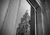 Liver Buildings Reflection (Formidable Photography) Tags: uk england bw reflection liverpool liverbuildings capitalofculture liverpool08 formidablephotography