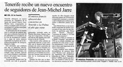 Reseña en el diario El Día