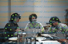 RARE- Jonas Brothers- Joe, Kevin, and Nick after lunch is finished, listening to someone-(Willing to trade original photo for a jonas brother rare) (JonasBrothersAreOffTheChain2) Tags: mandy show new camp dog hot cute girl up rock zoe joseph paul living video mine kevin tour play little guitar tag nick dream young piano husband joe frankie ring nicholas burnin prom mtv sing taylor onstage demi swift cry denise jonas rare bit selena longer meyers gomez trl diabetes purity lovato wylmite