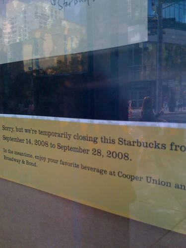 Starbucks in New York Citys East Village