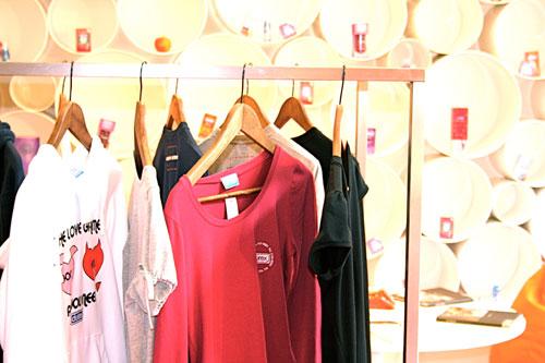 Durex Temporary Store shirts
