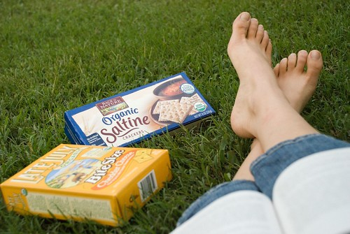 me and my saltines