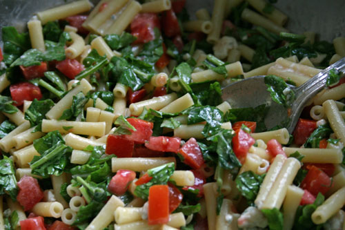 Easy Arugula and Gorgonzola Pasta