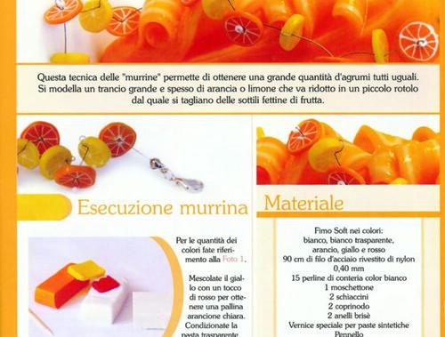 Il progetto che ho scritto per il Supplemento 2 a Fashion Gems Magazine n.5 - Molini con pasta modellabile