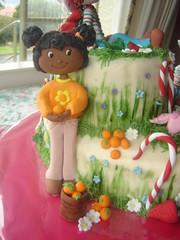 orange blossom (The Whole Cake and Caboodle ( lisa )) Tags: cake strawberry strawberryshortcake gingersnap shortcake buttercream orangeblossom caboodle angelcake fondantaccents