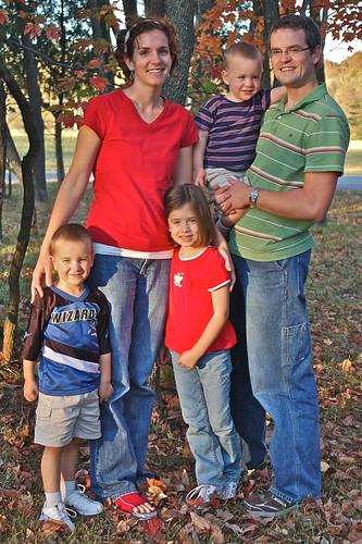 Josh and Jess's family