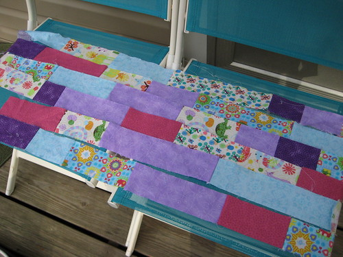 baby quilt (by lauraloops)