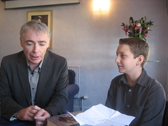 Eoin Colfer and Charlie 4