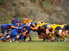Mele / Scrum (Jordi Bri) Tags: barcelona sports sport rugby olympus deporte manu bara fcbarcelona scrum deportes melee esports esport e510 manuelsalgado alella paretsdelvalles jordibrio manusalgado