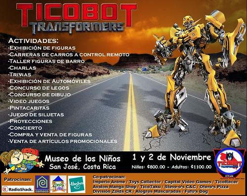 Afiche Ticobot 2008