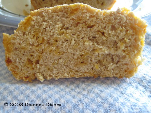 Whole Grain Cheddar Beer Bread
