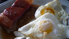 country ham, eggs, red eye gravy