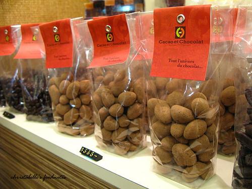 Cacao et Chocolat 珍珠巧克力陳列