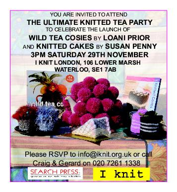 The Ultimate Knitted Tea Party invitation
