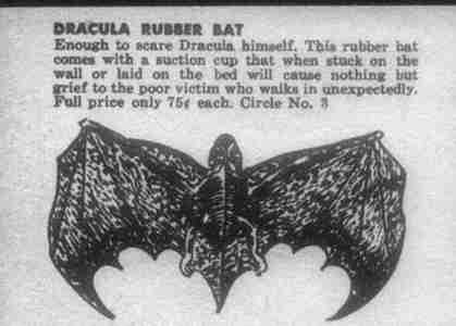 Murciélago de Goma