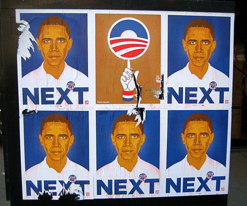 Obama Street Art from PrettyDelicious on Flickr