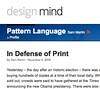 In Defense of Print | Blog | design mind_1226072265313