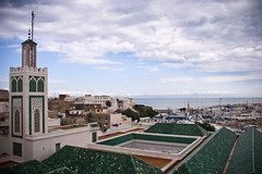 TangIer watches Spain (Primeroz) Tags: travel morocco marocco tangier tanger tangieri