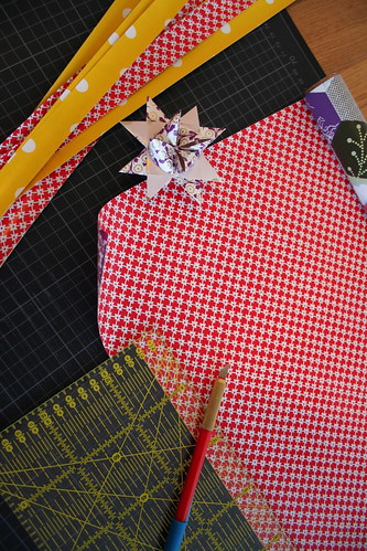 cutting strips for the Fröbel star