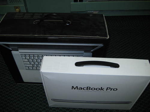 MacBook Pro Box New vs. Old