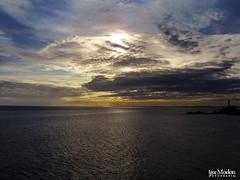 Morro do Cristo, Salvador/BA (I.Modon) Tags: ocean sunset brazil sky praia beach water brasil clouds geotagged mar cu prdosol bahia nuvens salvador barra oceano faroldabarra fortedesantoantnio geo:lat=13010704 geo:lon=38524064