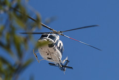 the Bell UH-1 (yusso) Tags: mexico bell huey helicopter leon nl monterrey nuevo helicoptero uh1 yusso xcpnl